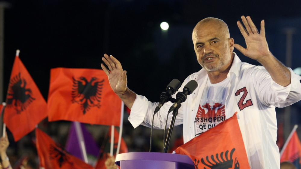 Albania's Socialists far ahead in early vote count