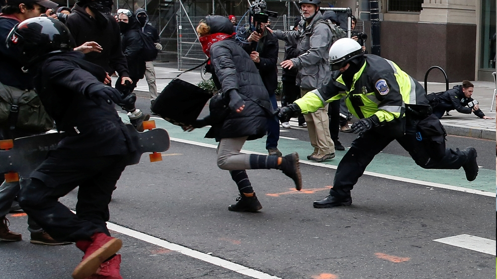 Charges dropped for 129 anti-Trump protest defendants