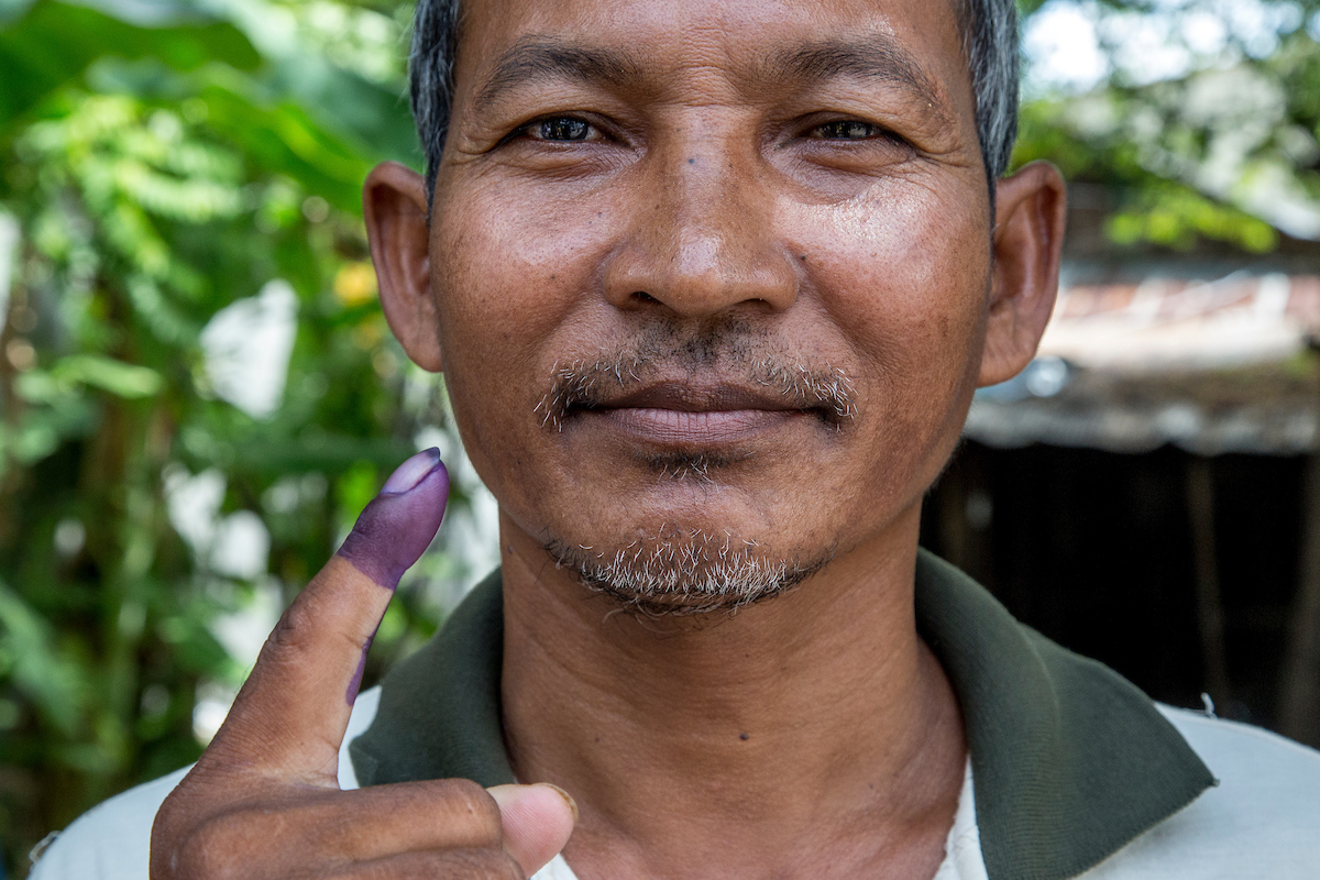 Cambodia votes to select 11,572 councillors for 1,646 commune councils. [Omar Havana/Al Jazeera]