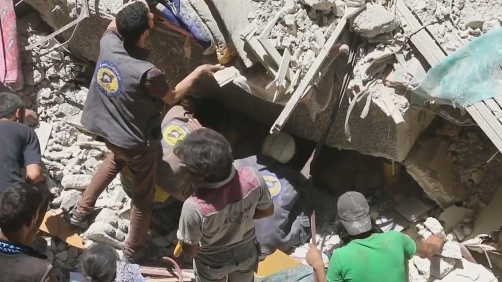 Air strikes kill 10 in Syria's Eastern Ghouta: SOHR