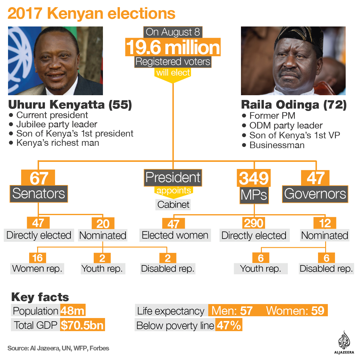 kenya election explaienr infographic