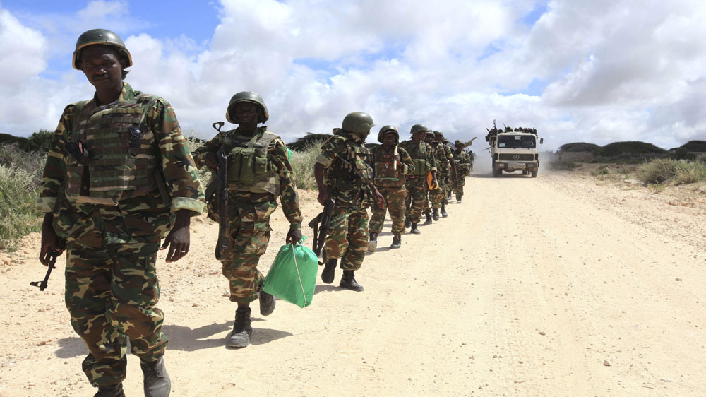Official in Lower Shebelle region of Somalia confirms 24 soldiers dead but al-Shabab fighters claim 39 troops killed.
