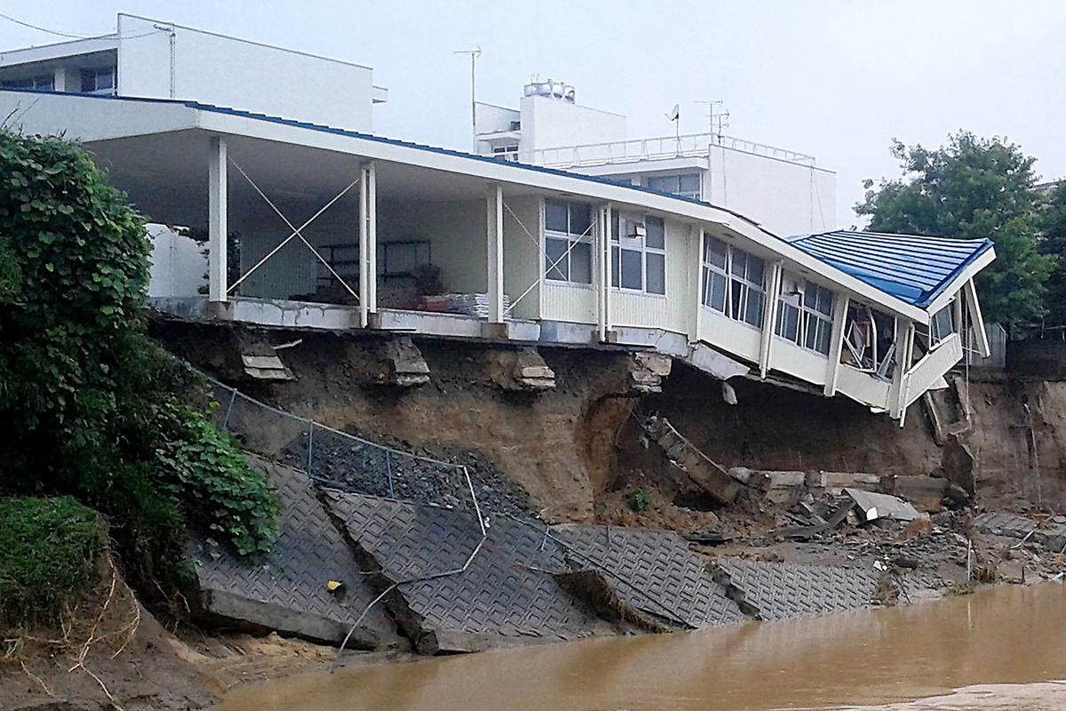 九州岛遭遇空前暴雨 - wuwei1101 - 西花社