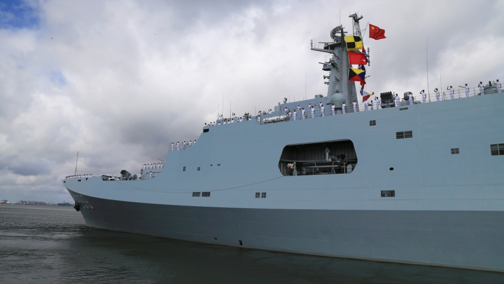 China opens first overseas base in Djibouti