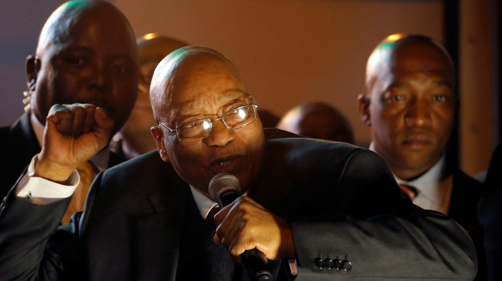 The ANC is not ready to give the opposition the opportunity to claim a political victory by toppling Jacob Zuma.