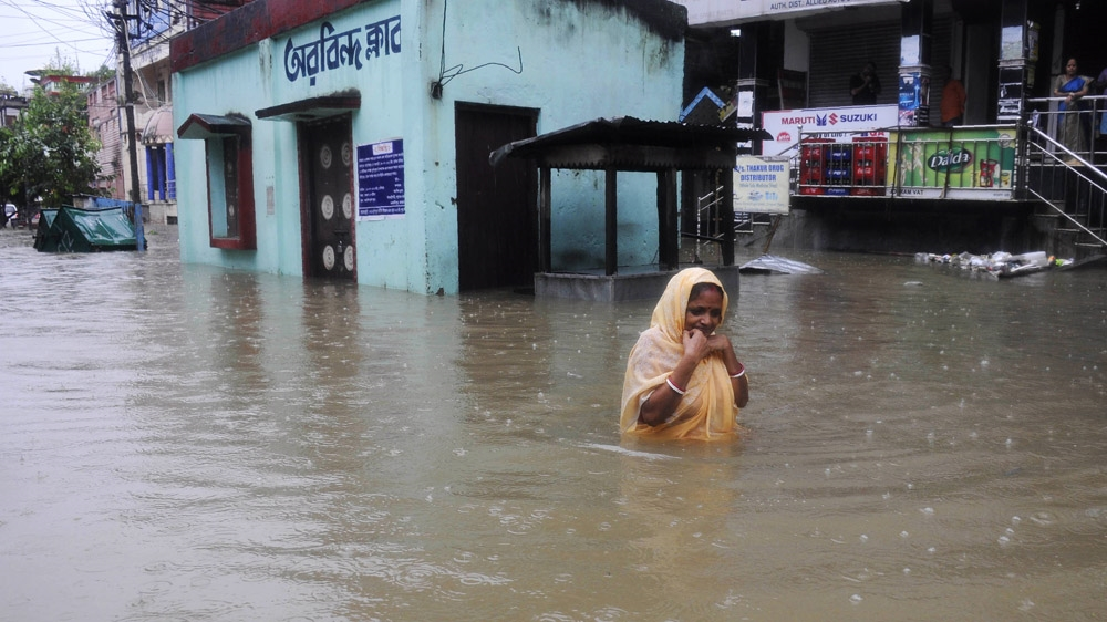 Flooding concerns return to northeastern India