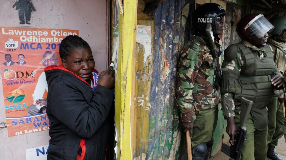 Incumbent Uhuru Kenyatta declared winner of presidential elections, but his rival is refusing to concede defeat.