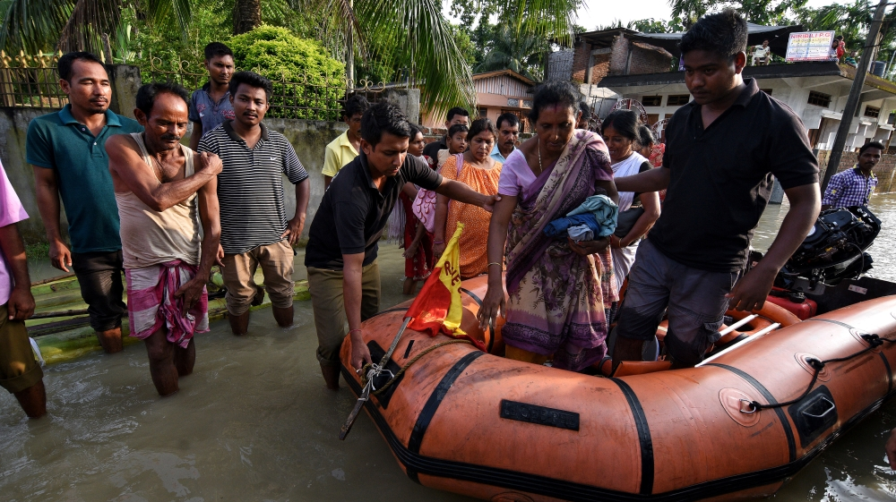 Over 200 dead in India, Bangladesh and Nepal floods
