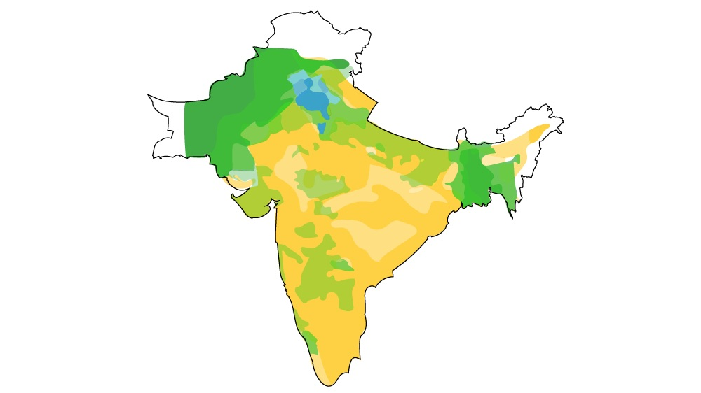Map Of India And Pakistan Border.How Were The India Pakistan Partition Borders Drawn India
