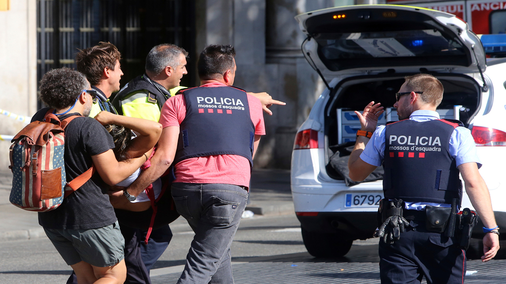 ISIL claims responsibility for van attack in Barcelona