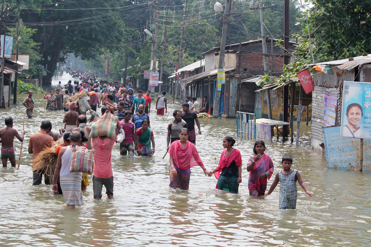 South Asia floods kill 1,200 and shut 8 million children out of school
