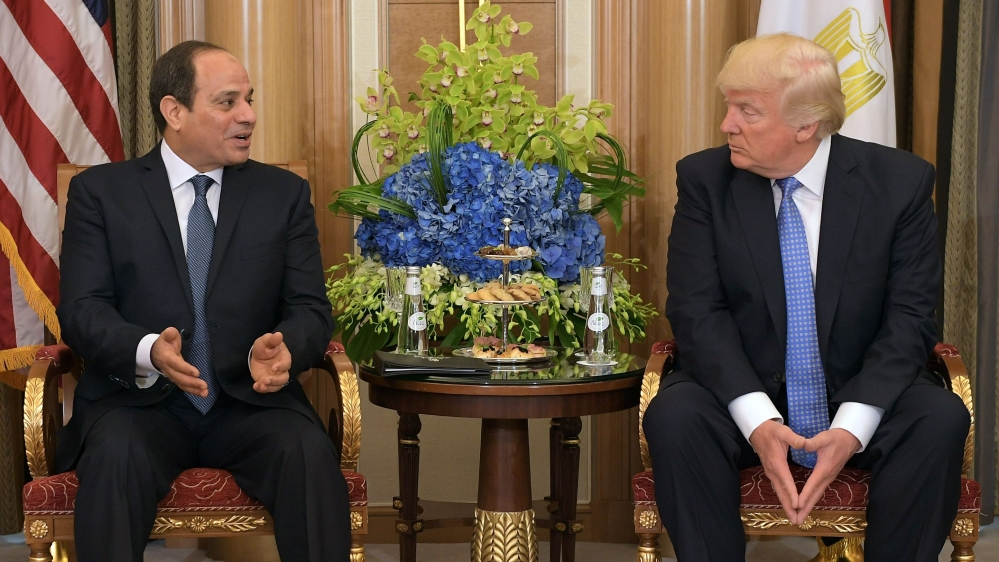 Is the US punishing Egypt by cutting aid?