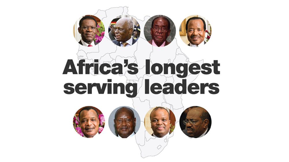 Africa's big men: The continent's long-serving leaders ...