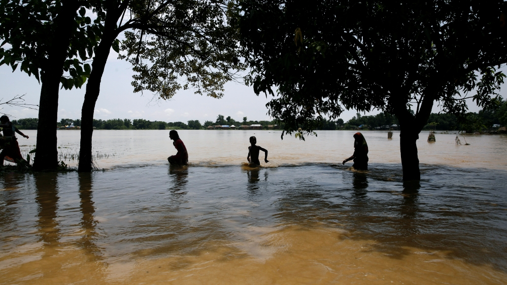 1200 dead, millions homeless due to flooding in India, Nepal, and Bangladesh