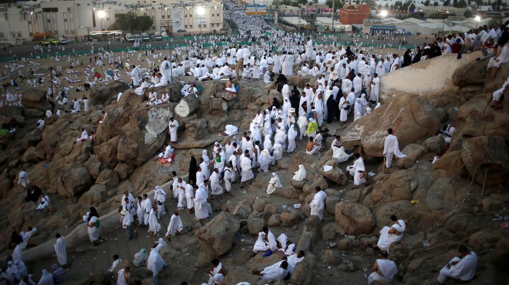 Muslims believe Prophet Muhammad delivered his final sermon on the granite hill more than 1,400 years ago