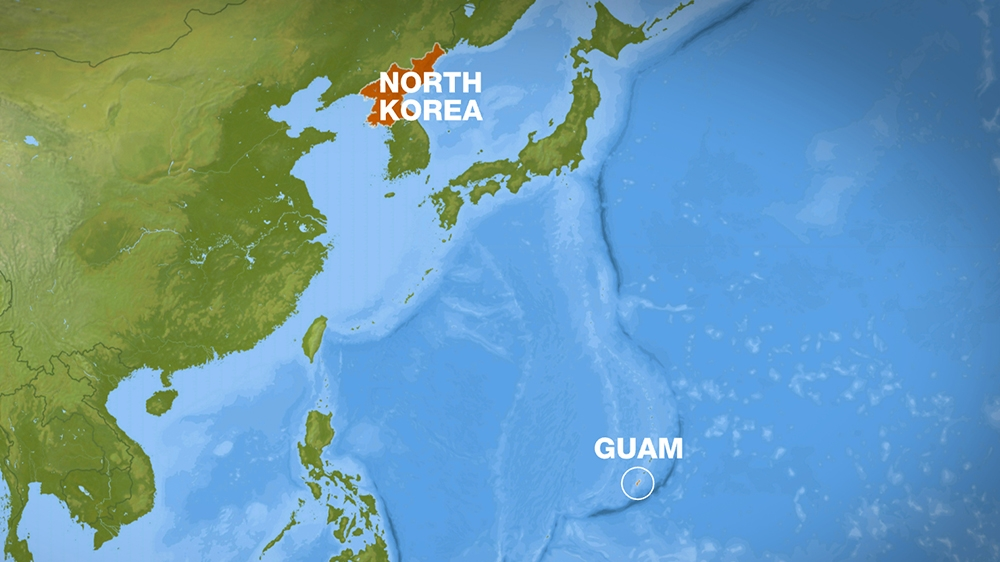 Guam governor warns north korea after threats of attack north i feel that the presence of the military on guam will help us a lot said virgie matson 51 a resident of dededo guams most populated village gumiabroncs Choice Image