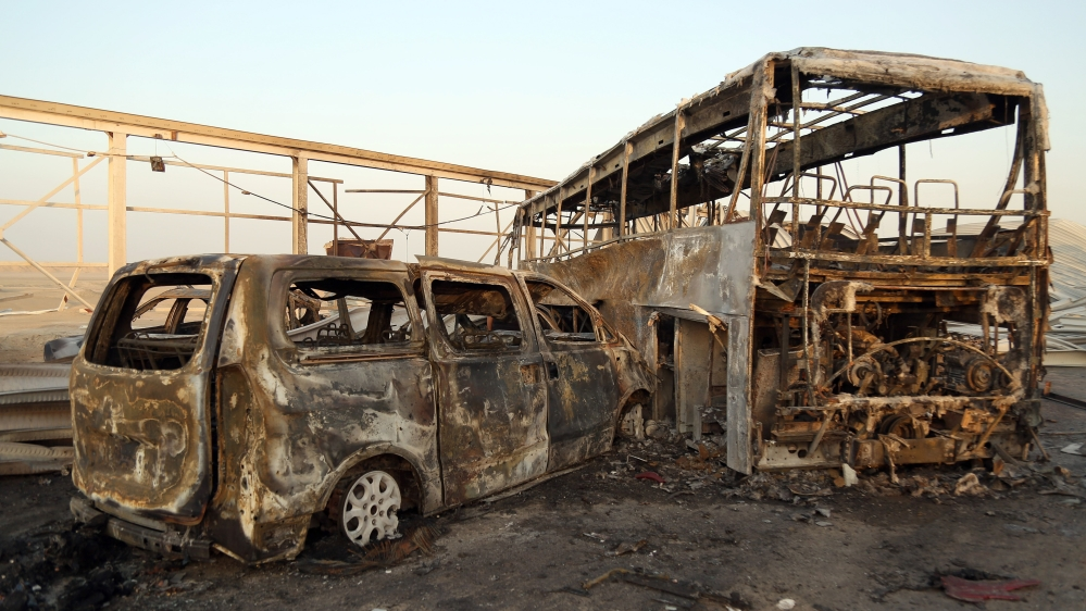 Twin suicide attacks leave scores dead in southern Iraq