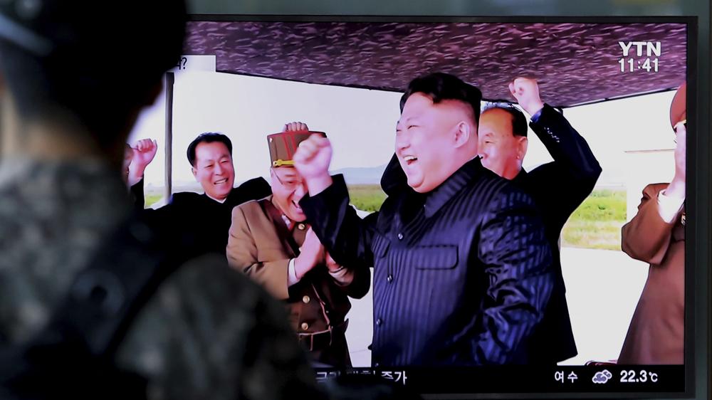 Trump takes aim at N Korea's 'Rocket Man' on Twitter