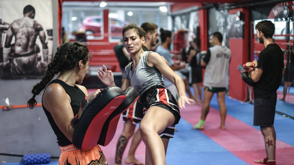 Punching back: Greek gym trains for anti-fascist action