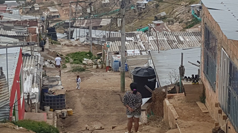 The Displaced And Forgotten In Colombia S Soacha Slum