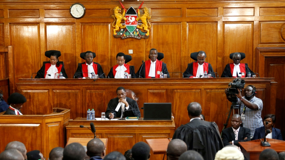 Why did Kenya's Supreme Court annul the elections? | Kenya ... Pictures Of Courts
