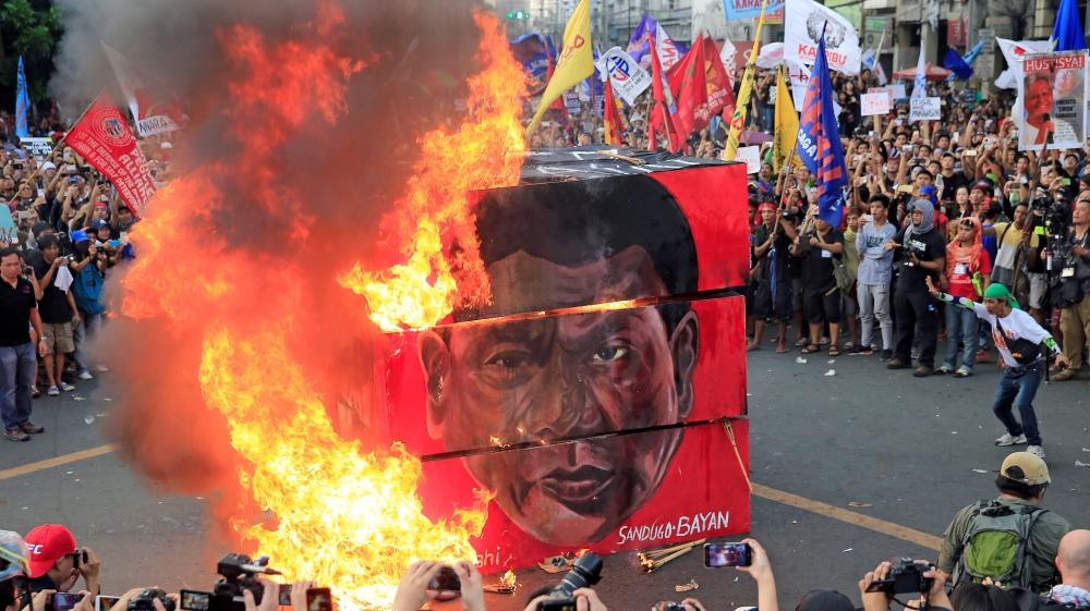 Thousands of Filipinos slam Duterte's drug war | Philippines News