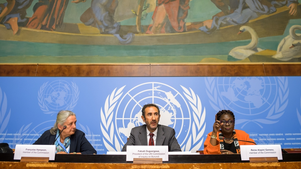 UN commission: Burundi commits crimes against humanity