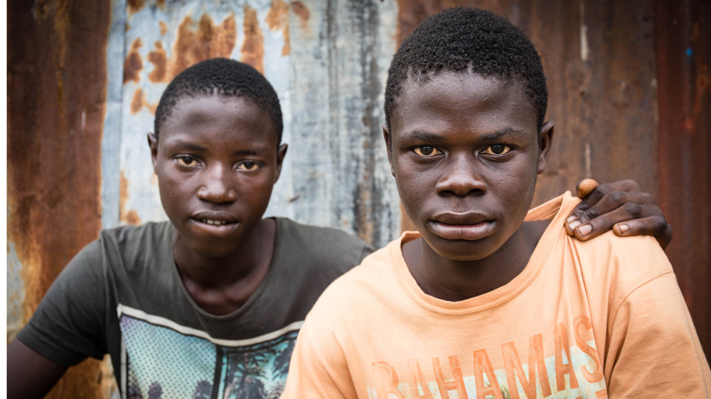 Orphaned by the mudslide in Sierra Leone's Freetown