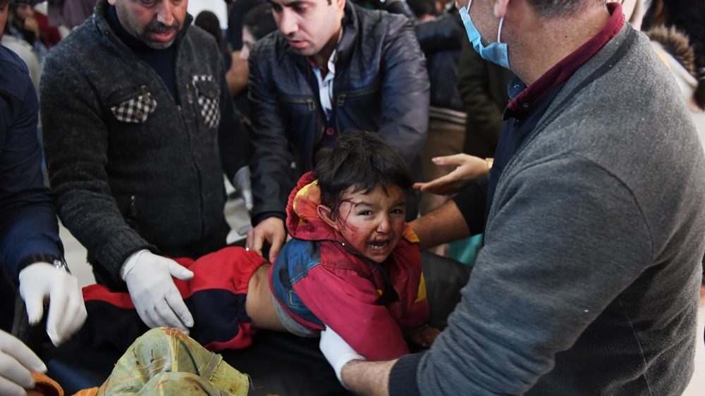 Syrian Civilians Killed In Turkey S Afrin Operation