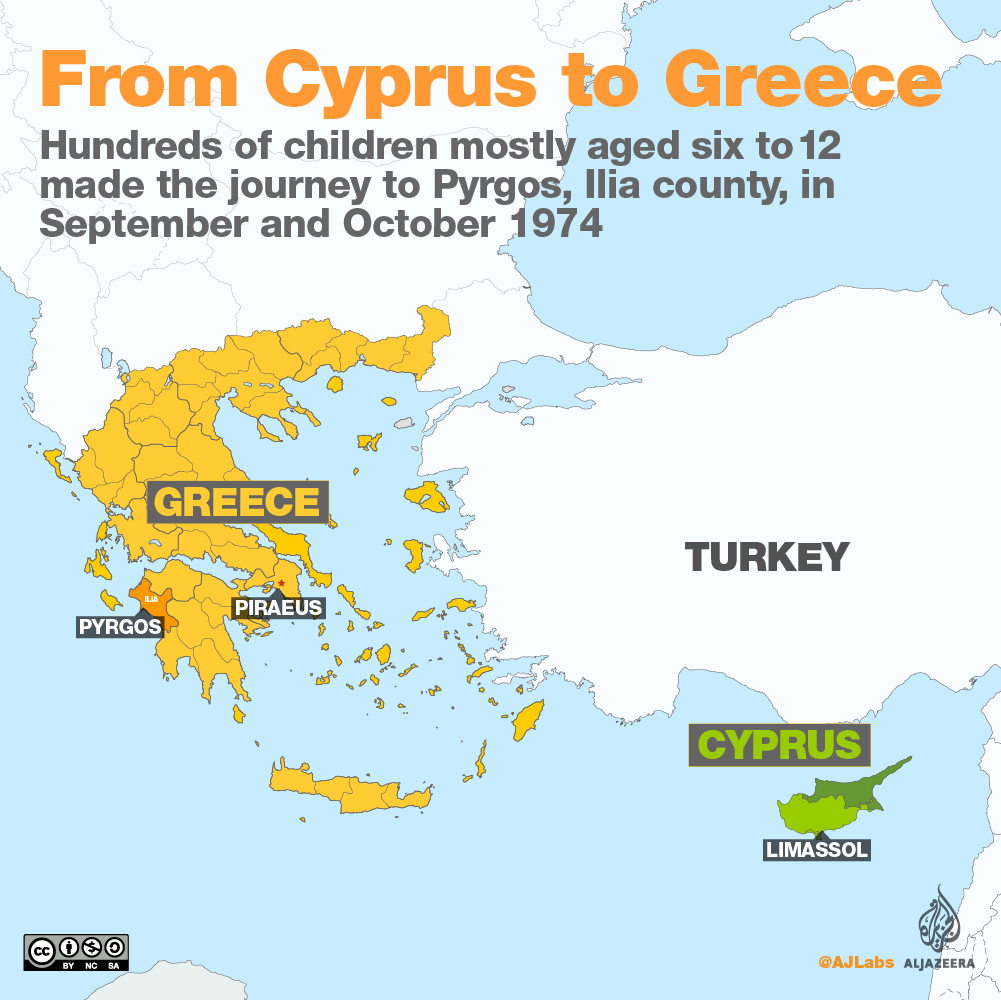 Map Of Cyprus Greece And Turkey - My Life