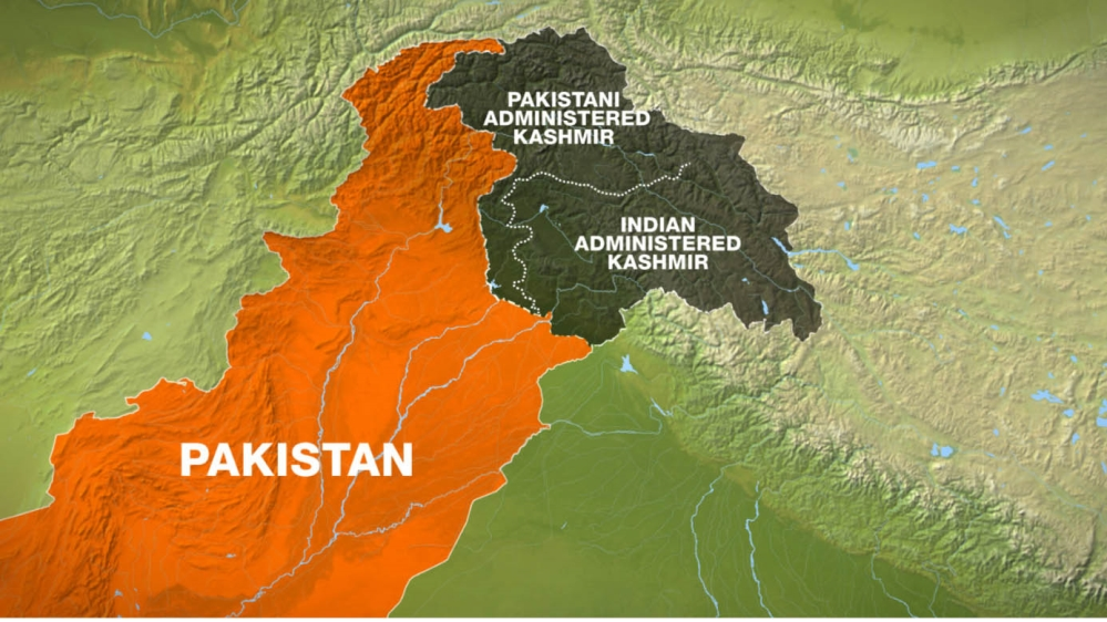Kashmir Map PAKISTAN RELATED STORY