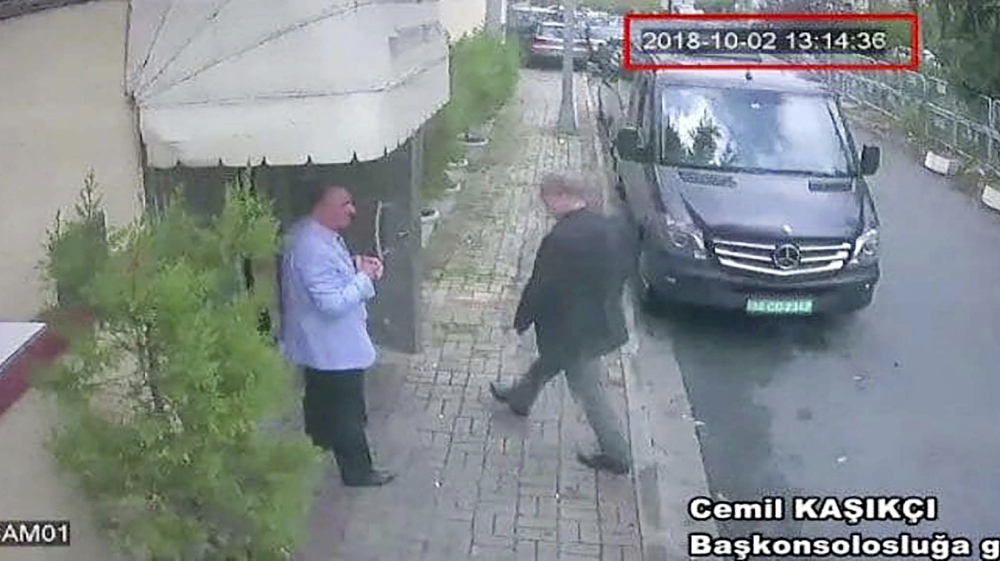 Video shows team accused in Khashoggi disappearance in Istanbul hotels, airport