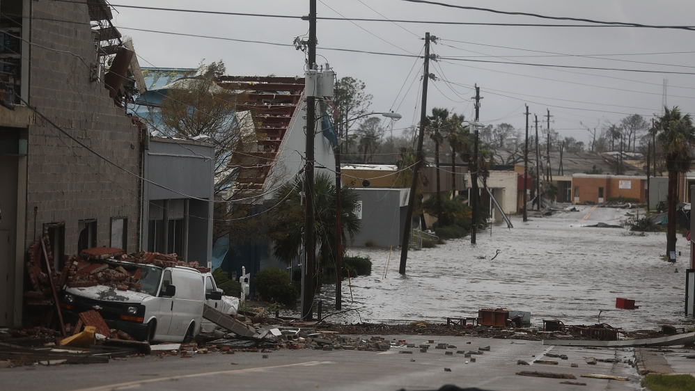Image result for afp images hurricane michael