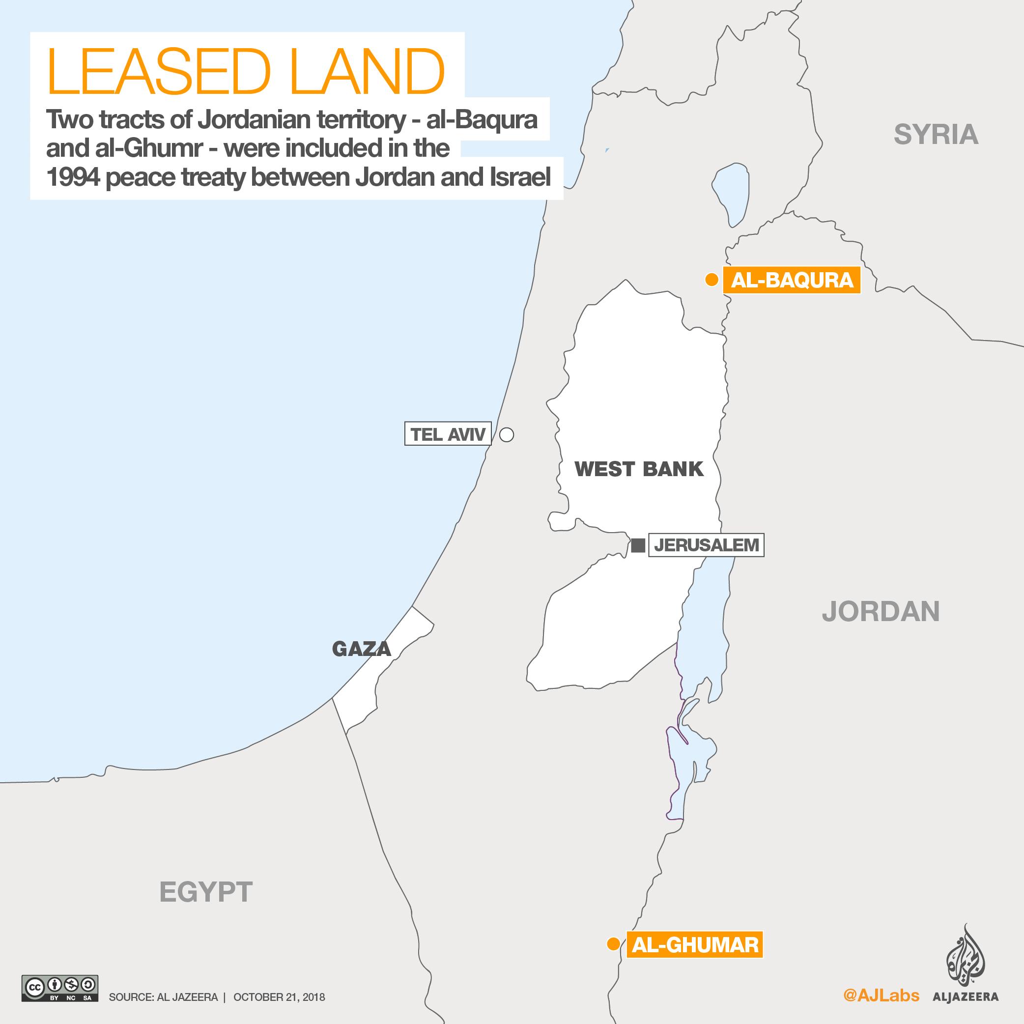 King Says Jordan To Reclaim Land Held By Israel Under 1994 Deal