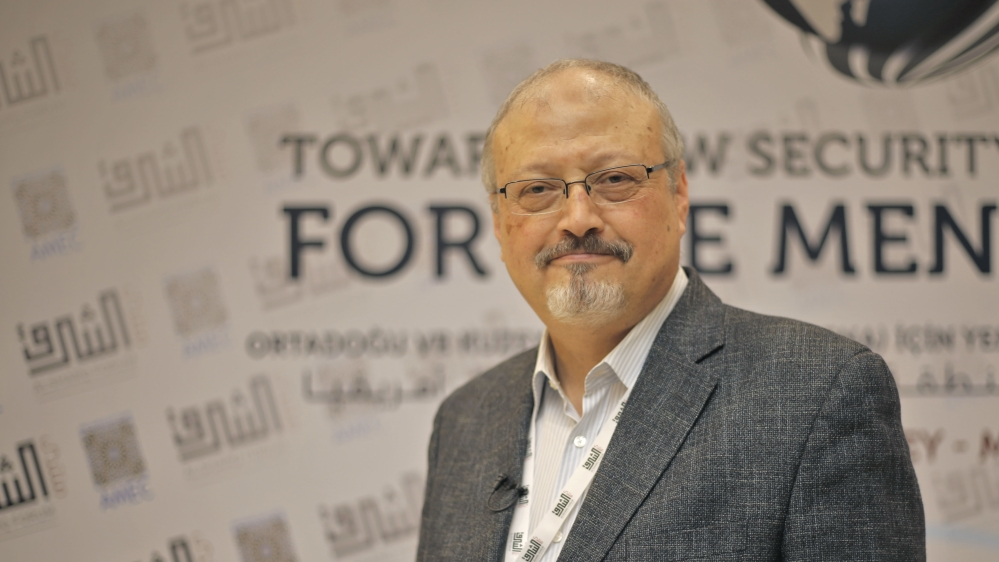 Saudi Arabia says Khashoggi died at Istanbul consulate- - ISTANBUL, TURKEY - (ARCHIVE) : A file photo dated May 6, 2018 shows Prominent Saudi journalist Jamal Khashoggi in Istanbul, Turkey. Saudi jour