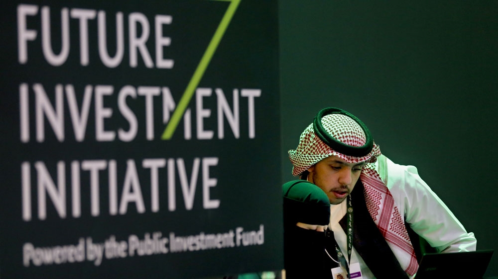 03d73679d24 Saudi s three-day Future Investment Initiative conference is aimed at  attracting foreign investment to the kingdom  Amr Nabil AP