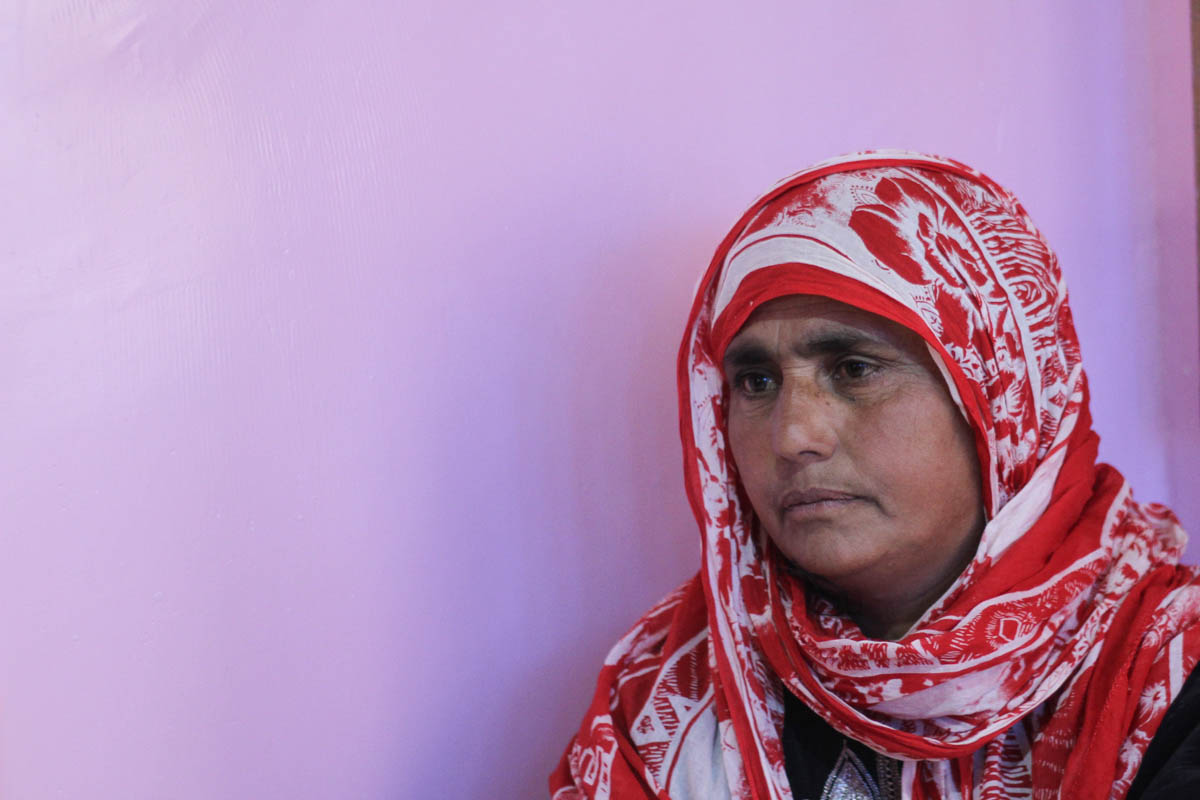 Naseema Bano lost her rebel son earlier this year. Tauseef was associated with Lashkar-e-Taiba, a prominent armed group in Kashmir. 'I miss my son. I wish he was with me, but such is the destiny of thousands of mothers like me in Kashmir,' she said. [Sameer Mushtaq/Al Jazeera]