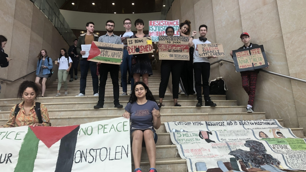 NYU students move to divest from firms tied to Israeli occupation