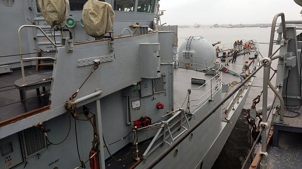 pakistan navy quits anti