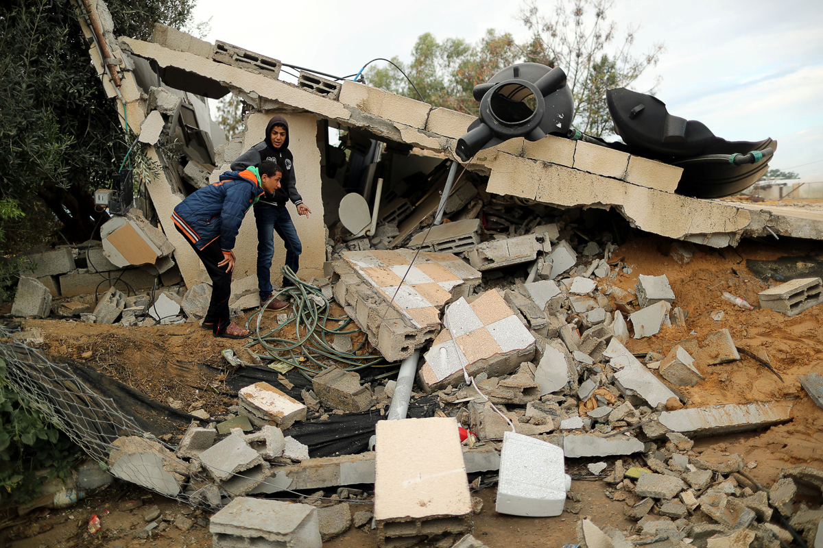 Since 2008, Israel has launched three major assaults on Gaza that have heavily damaged the Strip's infrastructure and sources of livelihood. And recent months of unrest have raised fears of a fourth. [Suhaib Salem/Reuters]