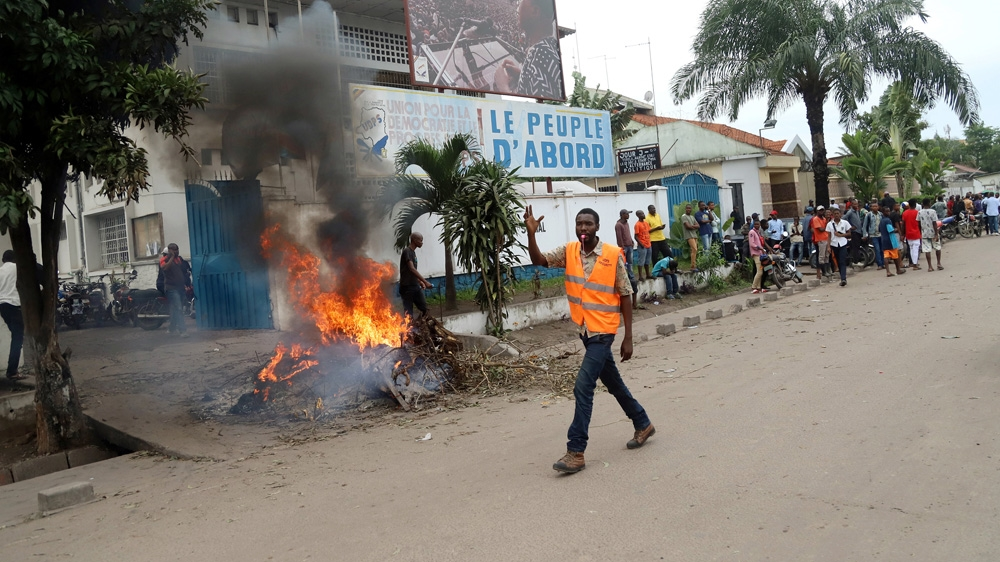 UN 'alarmed' by fighting in DR Congo ahead of December elections