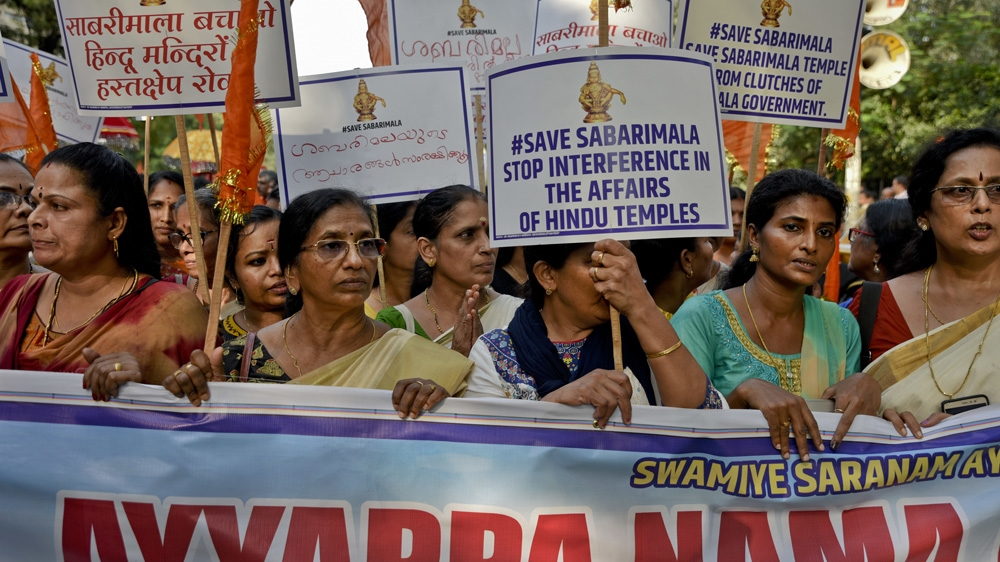 Sabarimala temple: A rallying point for the Hindu far right?