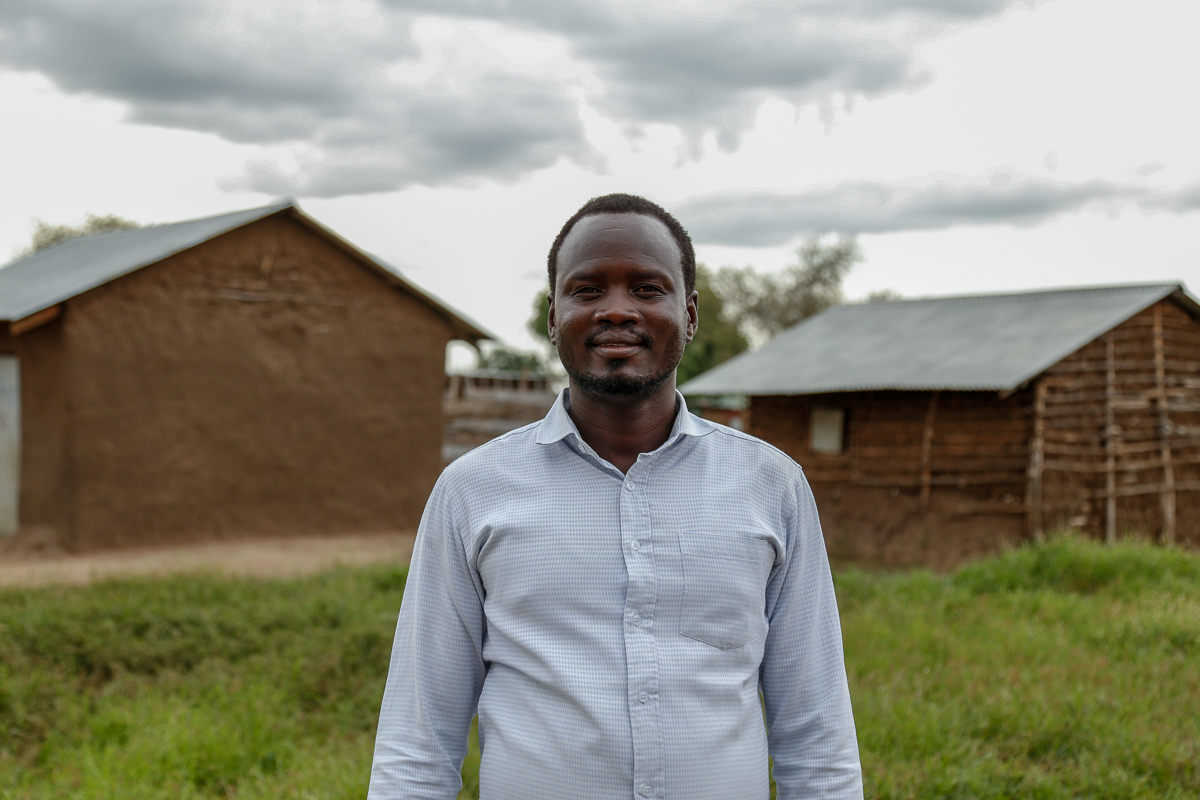 Taken as a child soldier at the age of 12, and a witness of decades of conflict, Thor is no stranger to trauma. After studying at the Kenya Methodist University, he returned to South Sudan and is now a master trainer for the Morning Star workshops, training other South Sudanese to identify and address their own trauma. [Viktorija Mickute/Al Jazeera]