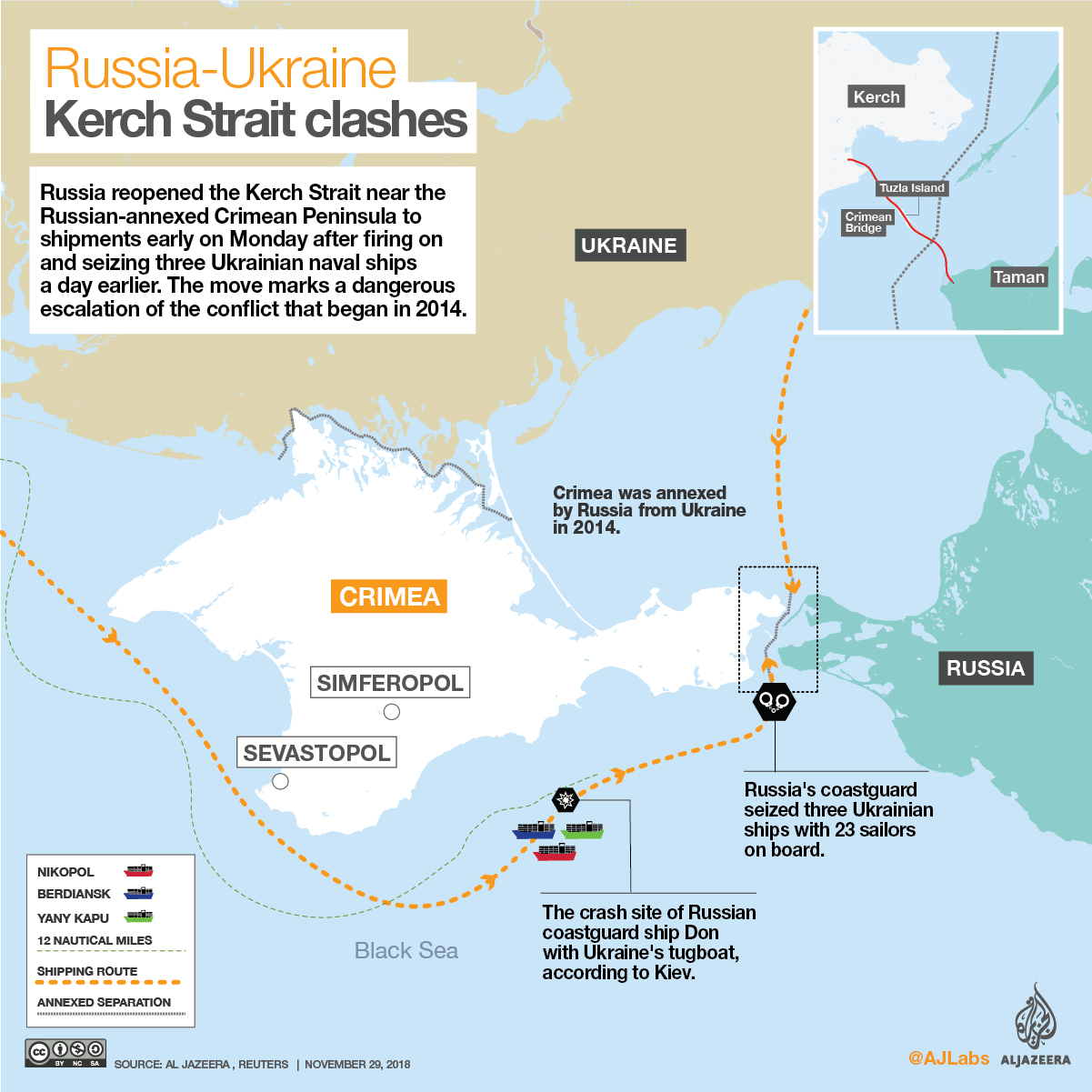 Ukraine And Russia Map.Explainer Ukraine Russia Dispute Over Territorial Waters Russia