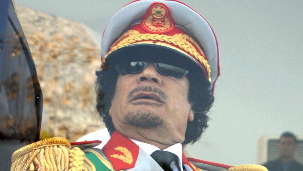 Image result for Colonel Muammar Gaddafi
