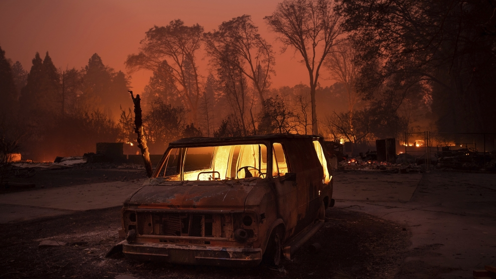 State of emergency declared as 'rapidly-moving' California fire grows