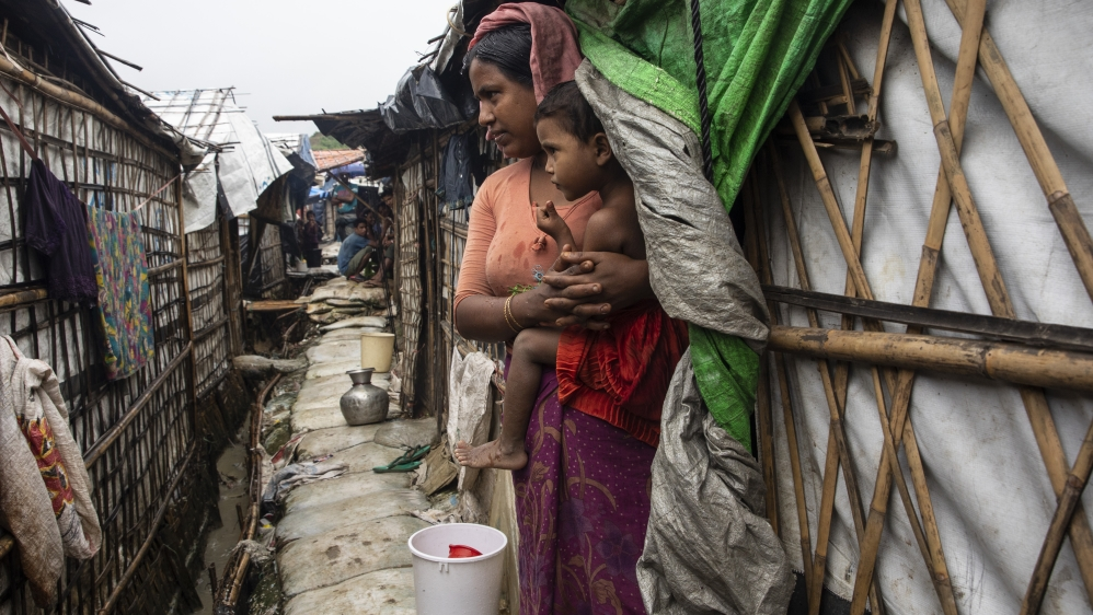 700,000 Rohingya fled Myanmar after an army-led crackdown in 2017