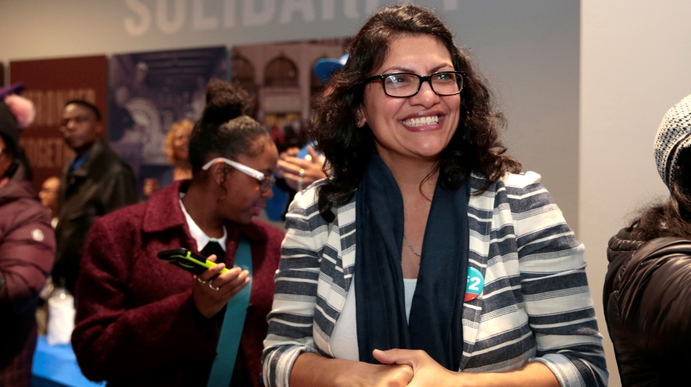 Rashida Tlaib to wear Palestinian dress at US Congress swear