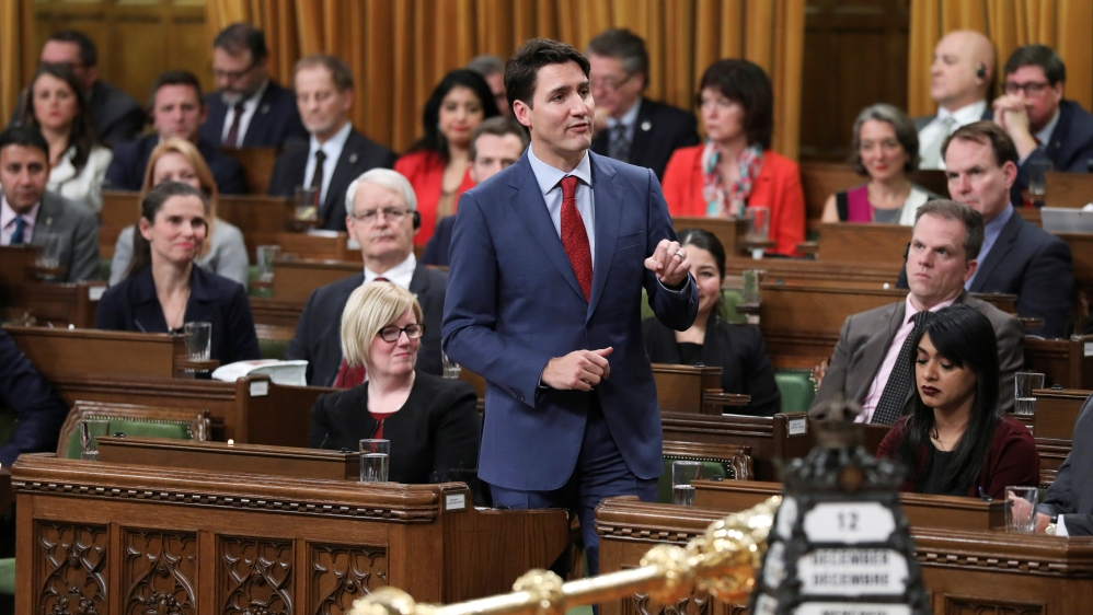 Justin Trudeau: Canada looking for way out of Saudi arms deal