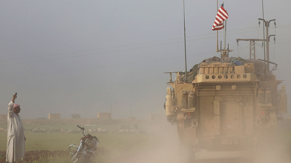 USA  begins withdrawal of troops from Syria as Trump declares IS defeated